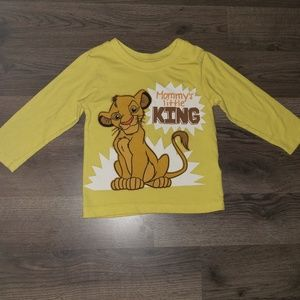 18-24m Lion King Disney Longsleeve Shirt